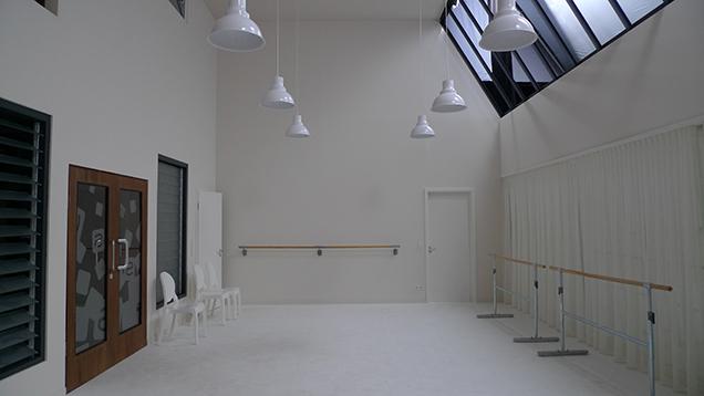 Neuer Tanzsaal in der Tanzschule Steinkamp