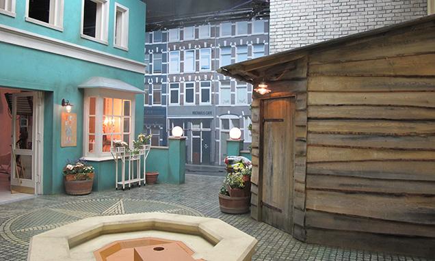 Neues Set für die Serie Siebenstein im ZDF