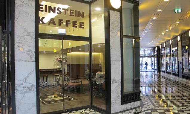 Einstein Kaffee, Quartier 207, Friedrichstraße Berlin