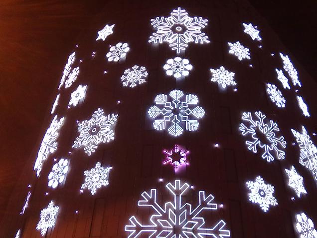 Barcelonians like Christmas decoration, it seems.